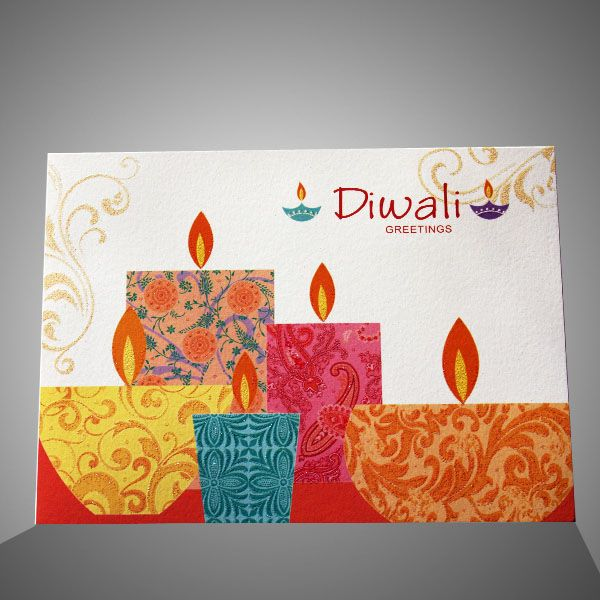 Diwali Greeting Card Making Ideas Part - 15: Simple U0026 Easy Diwali Homemade Greeting Card Designs Idea Make Decorative Handmade  Diwali Cards, Latest Beautiful Homemade Deepavali Cards