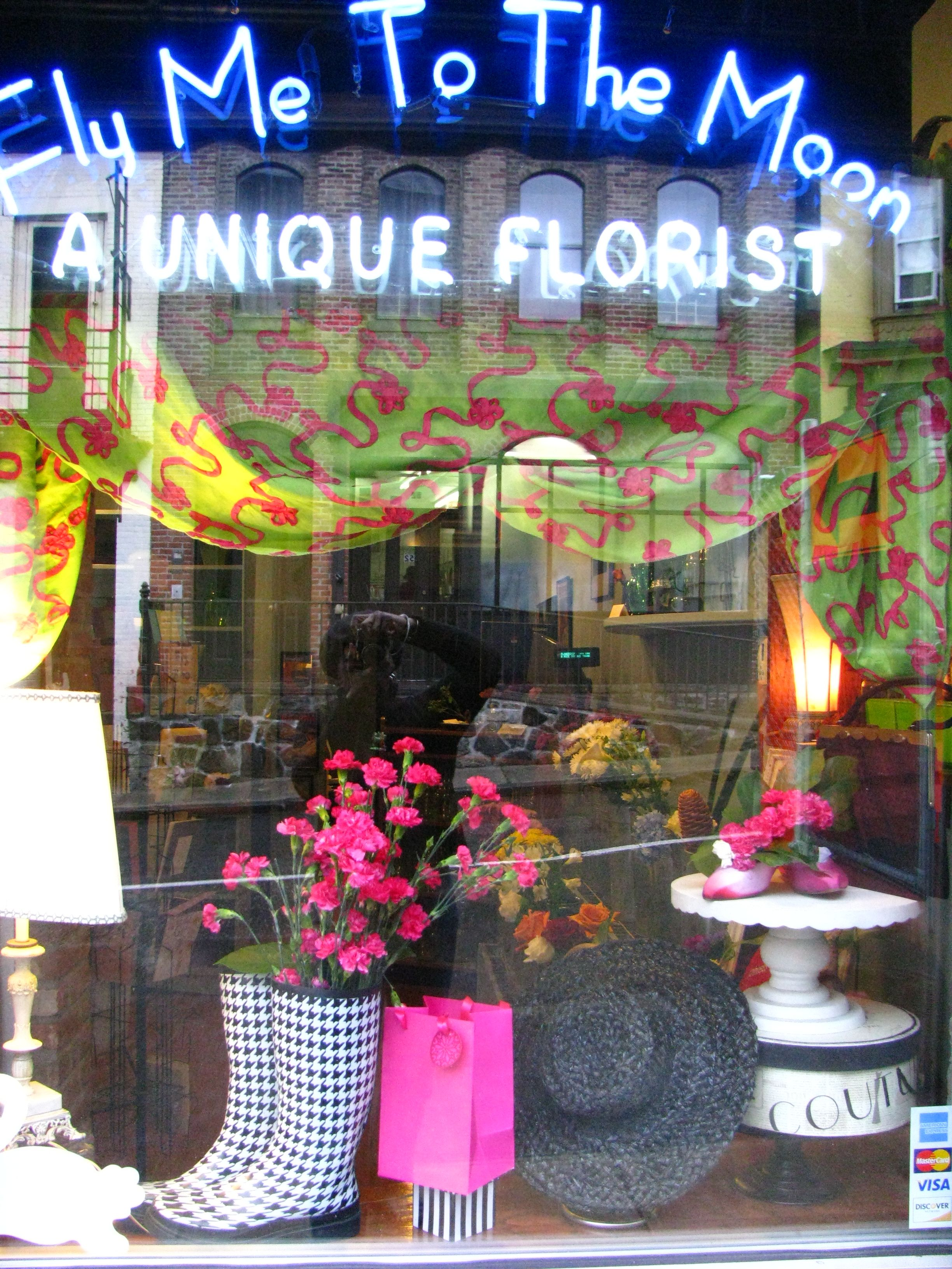 Mother S Day Window Of Fly Me To The Moon Florists