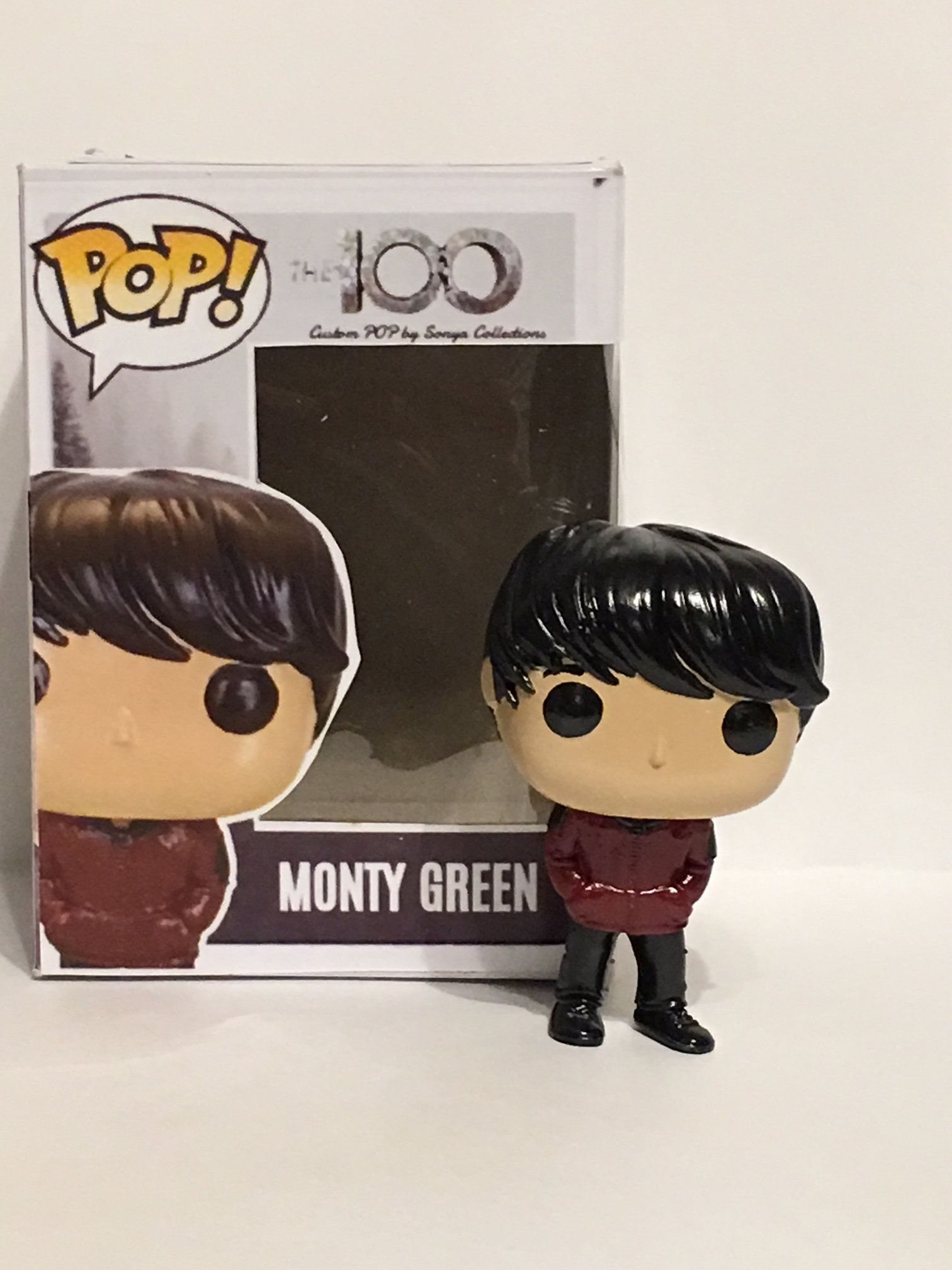 0bb9ea71b81 The 100 s Season 1 Monty Green Custom Funko POP by SonyaCollections on Etsy