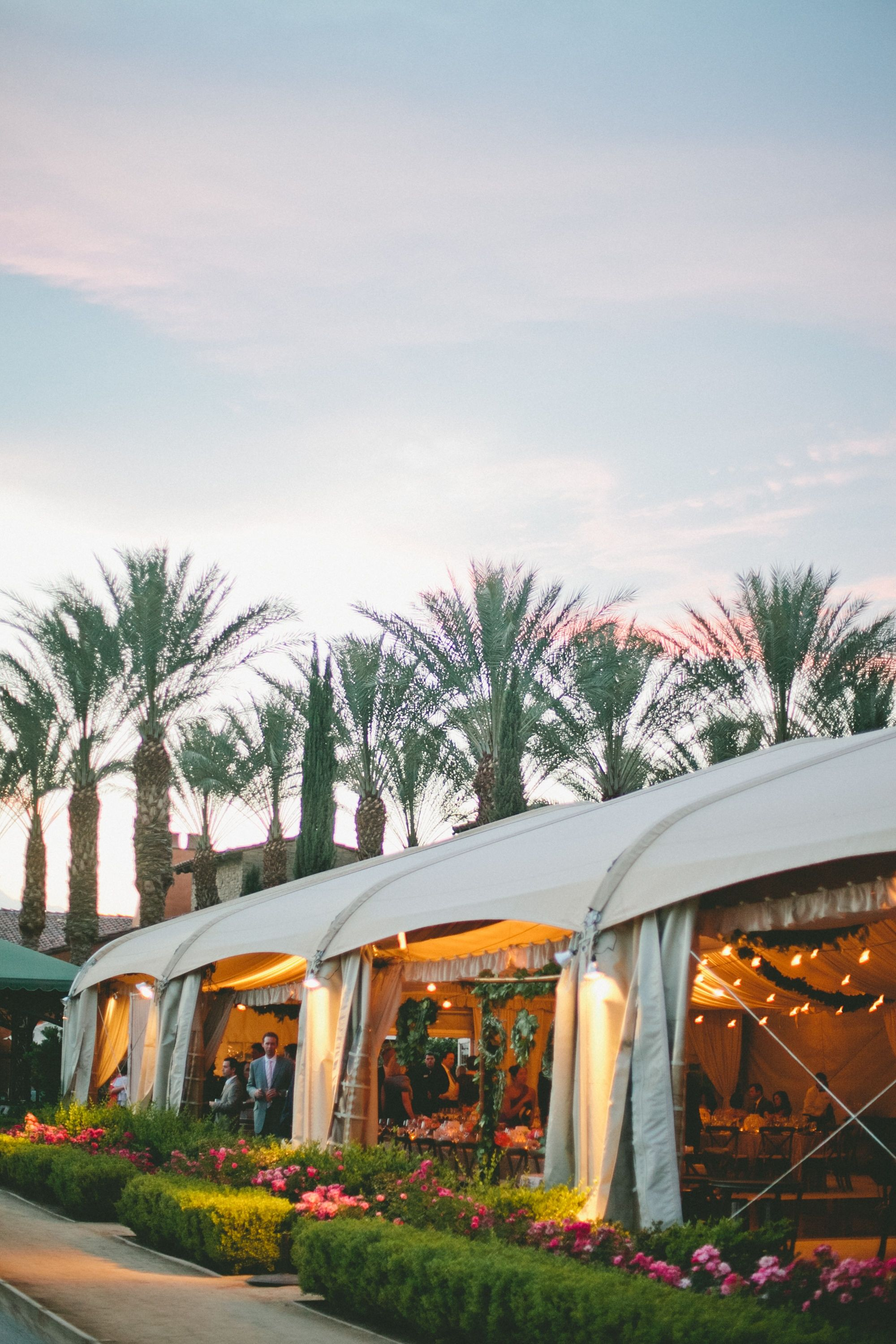 Tented Reception | Toscana Country Club | Onelove Photography | TheKnot.com