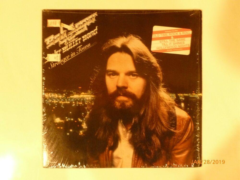 Bob Seger Stranger In Town Vinyl Lp Sw 11698 1976 Capitol Records