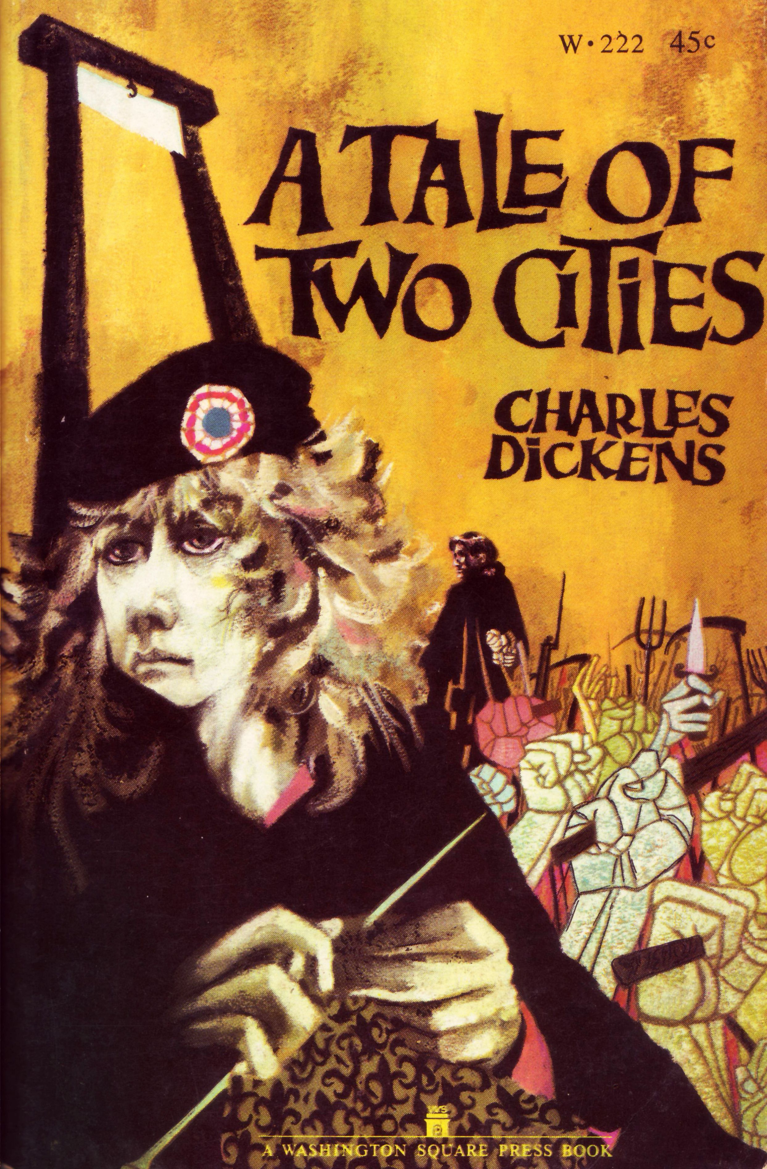 a tale of two cities metaphor Dickens literary techniques 1 charles dickens: literary techniques emma garcía bértoa 2  metaphor a figure of speech in which a word or phrase literally denoting one kind of object or idea is used in place of another to suggest a likeness or  in a tale of two cities using the wine that spills into the streets early in the novel as.
