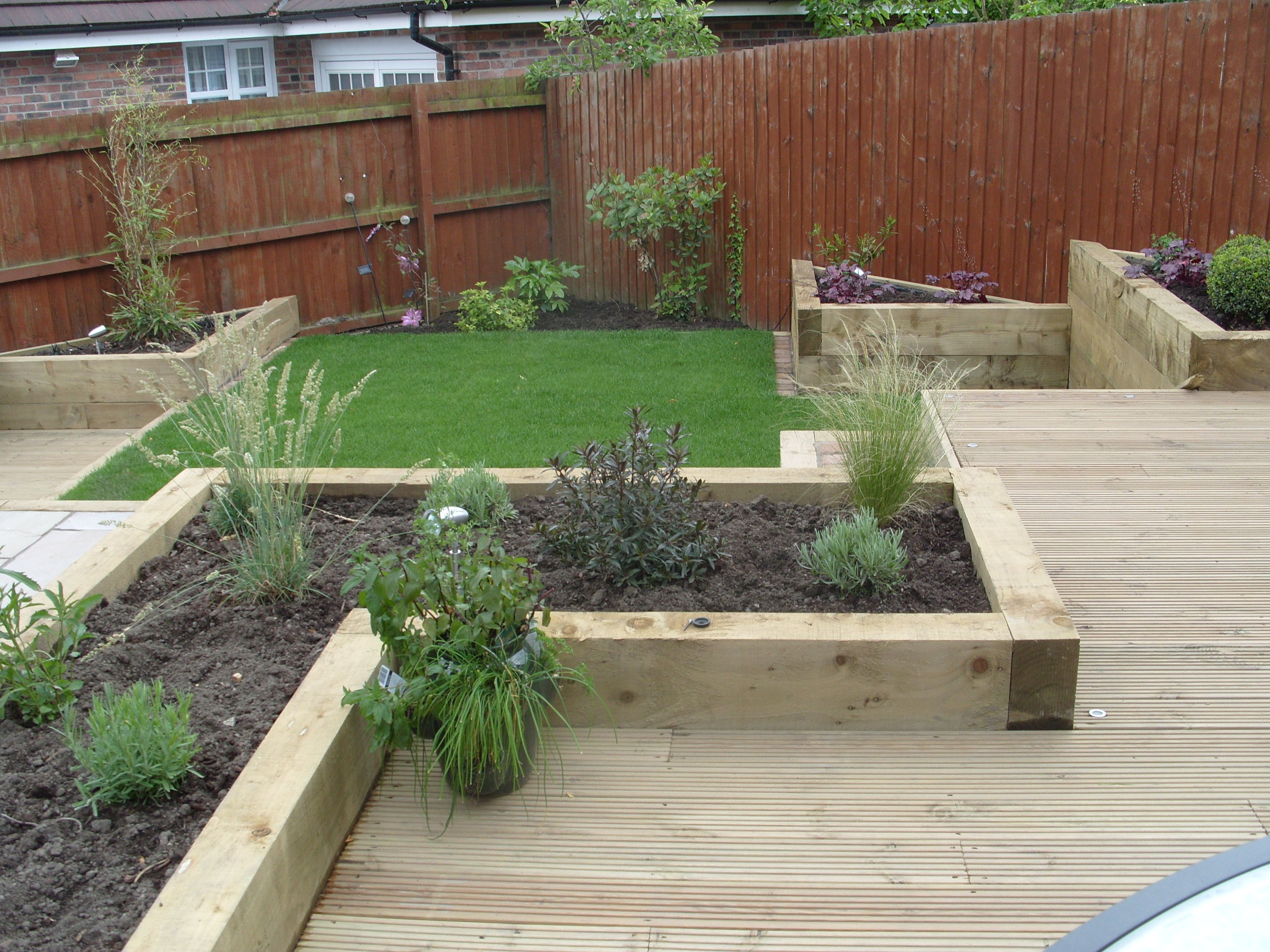Best landscape design for small backyard home for Garden design plans