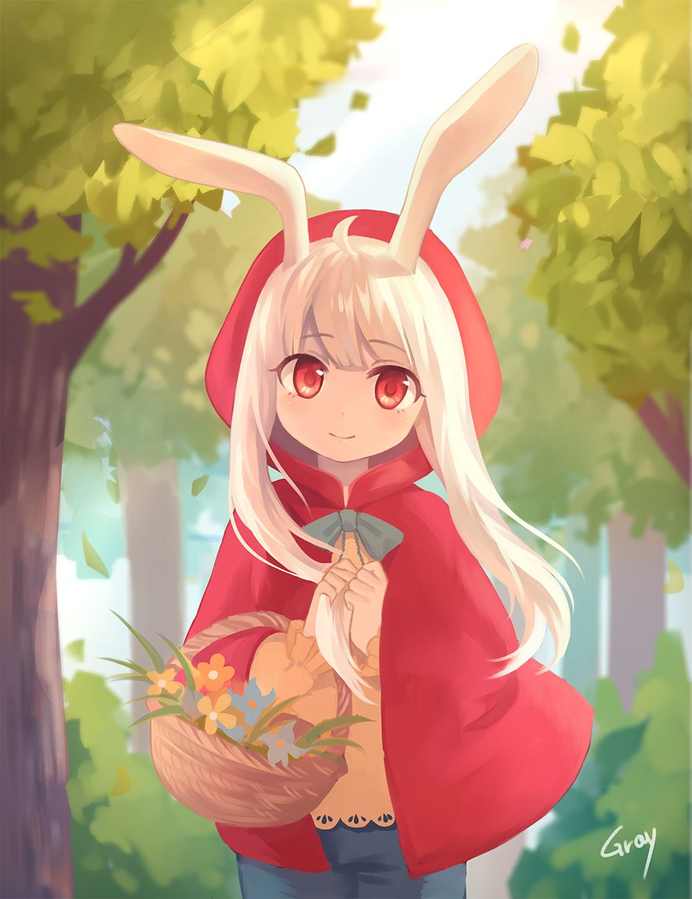 Pin By Victoria Finney On Wolf Rabbit Anime Rpg Horror Games Kawaii Anime