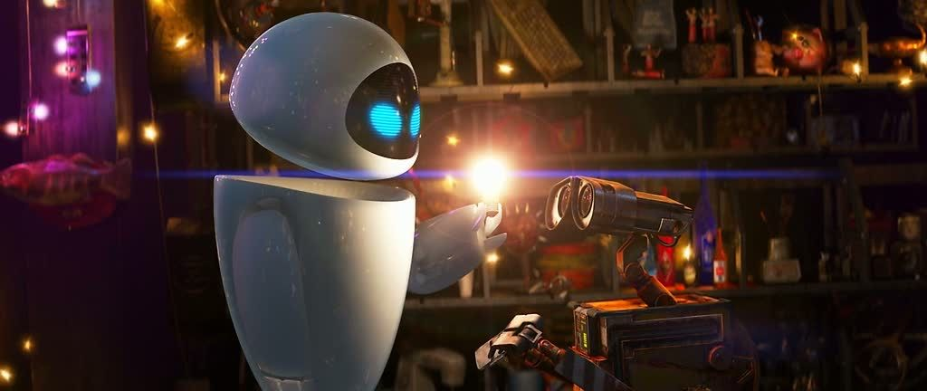 Cinematic Paintings The Art Of Cinematography Wall E Wall E Movie Wall E Eve