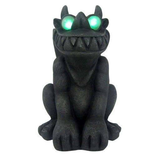 Design House 319673 18-1/8 Inch Tall Grinning Gargoyle Lawn - lowes halloween inflatables