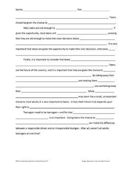 Paren Causal Argument Essay Research Paper Outline