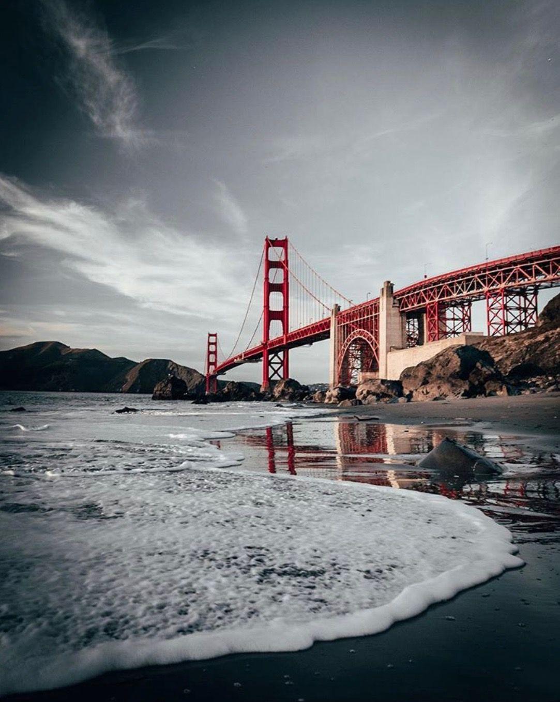 Golden Gate Bridge On San Francisco Bay Photo Credit Peter Mckinnon On Instagram In 2020 Golden Gate Cinematic Photography Bay Photo