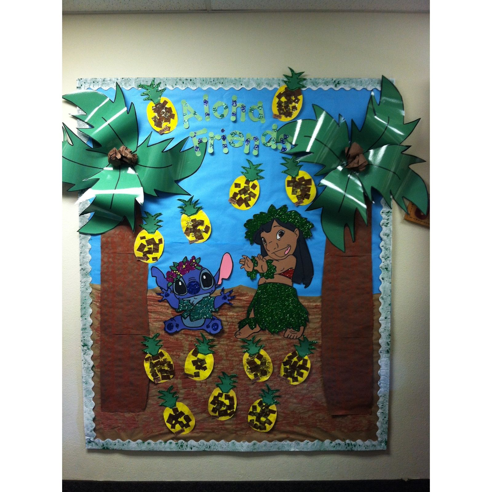 Classroom Decorations Bulletin Boards : Lilo and stich bulletin board pinterest inspired