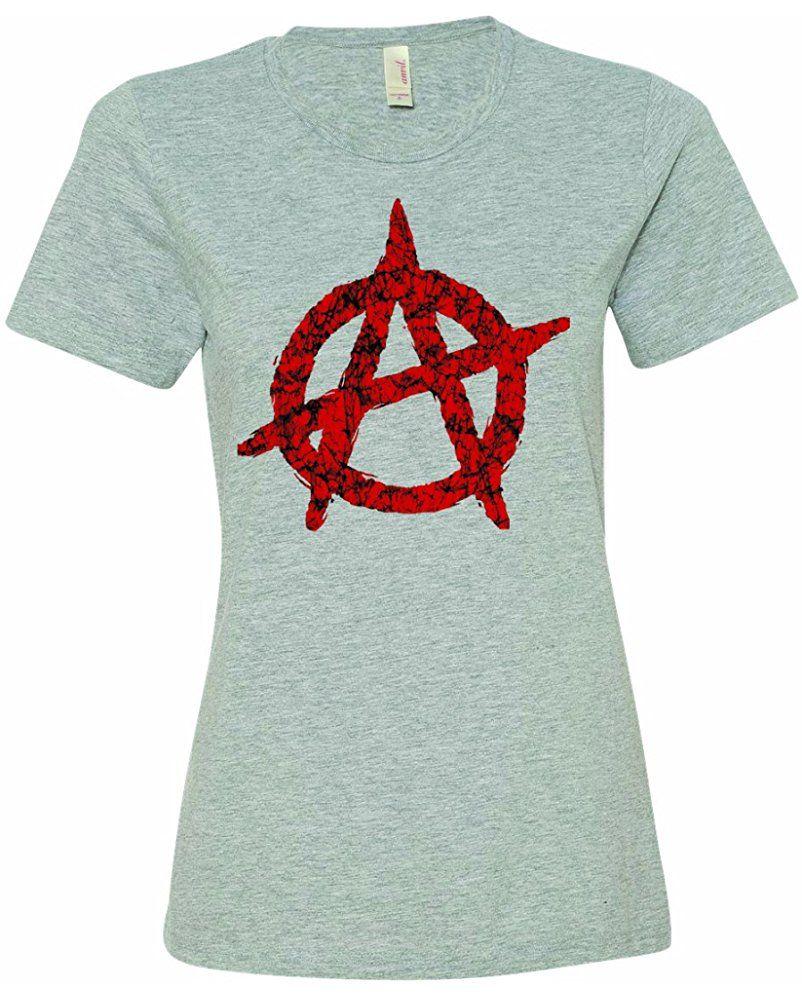 Ladies Anarchy Apocalypse Circle A Symbol Political Revolution Chaos T Shirt Women 09299 17 90 Womens Shirts Shirts Anarchy