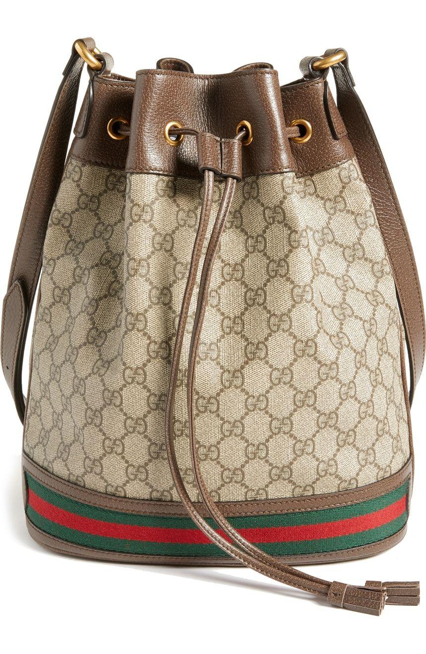7afa20427 Gucci Ophidia GG Supreme Bucket Shoulder Bag | Nordstrom | Gucci ...