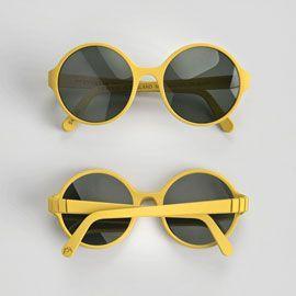 3D printed sunglasses.