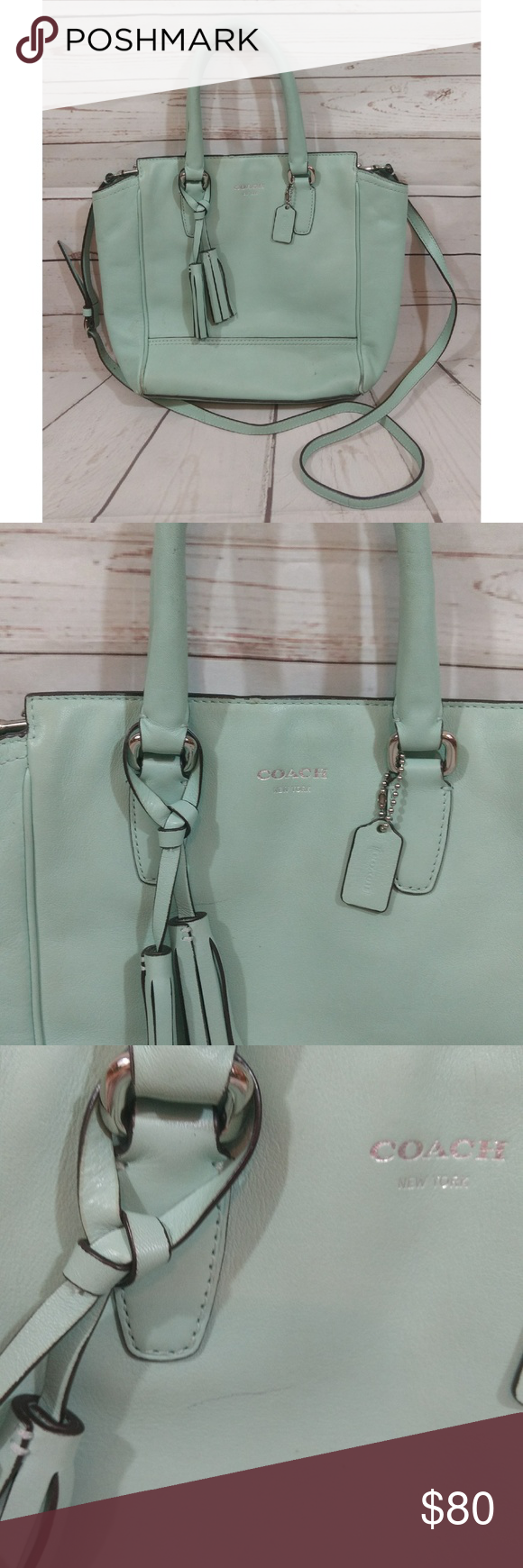 Coach Legacy Leather Mini Tanner Crossbody Bag Coach