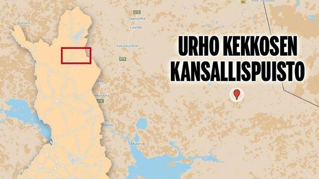 65-vuotias mies kuoli pakkaseen – eksyi toverinsa kanssa hiihtoretkellä UKK:n kansallispuistoon - Kotimaa - Ilta-Sanomat