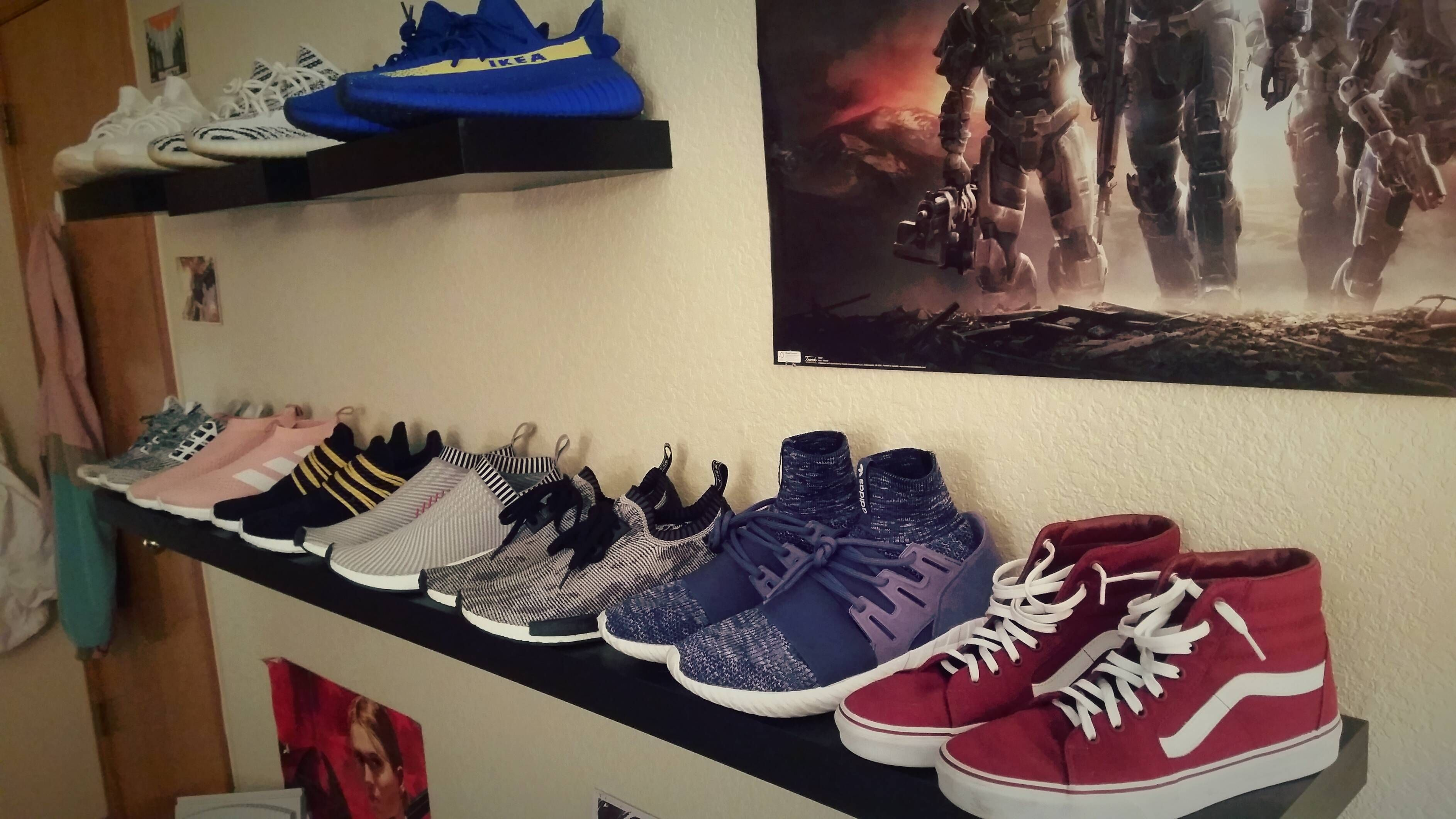 My favorite ikea shelves · Ikea ShelvesNike SneakersNike ...