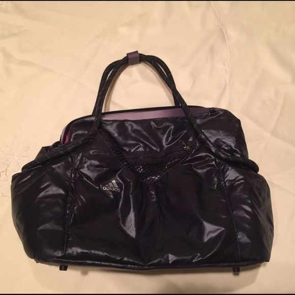 Adidas Gym Bag Trendy By Good Used Condition Very Comfortable To Carry Sneakers And A Whole Nal Of Cosmetics Extra Clothes