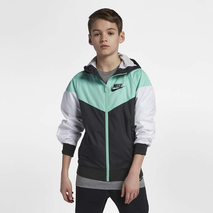 check out 9bd6d 5490c Nike Sportswear Windrunner Big Kids  (Boys ) Jacket