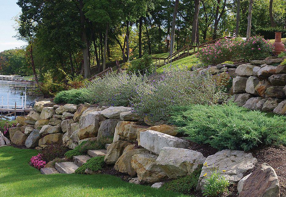 lake frontage landscaping award