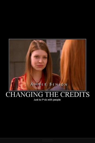 That should have been our first clue. Changing the credits during the season should always be bad news.