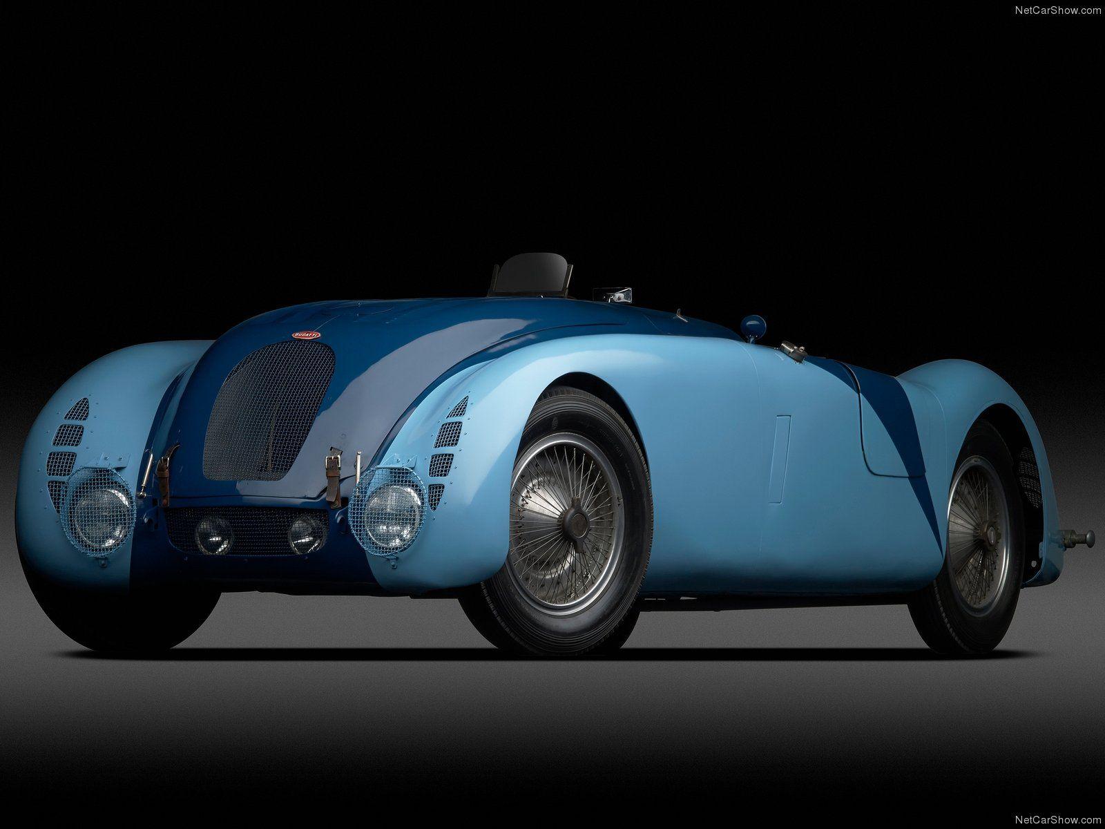 Bugatti Type 57G 'Tank' '37 LeMans