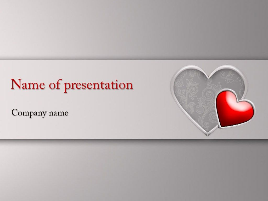 Hearts powerpoint template powerpoint templates pinterest hearts powerpoint template toneelgroepblik Choice Image
