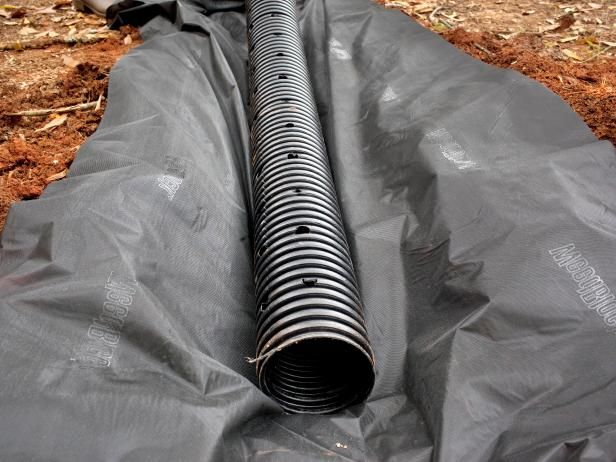 How To Build A French Drain Yard Drainage French Drain
