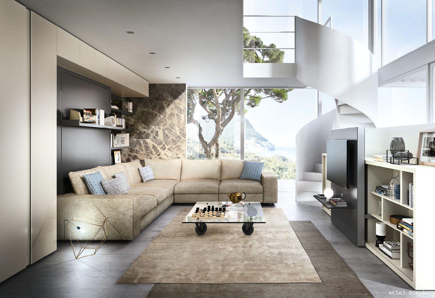 Lo spazio di Clei - Il soggiorno diventa camera da letto con Tango ...