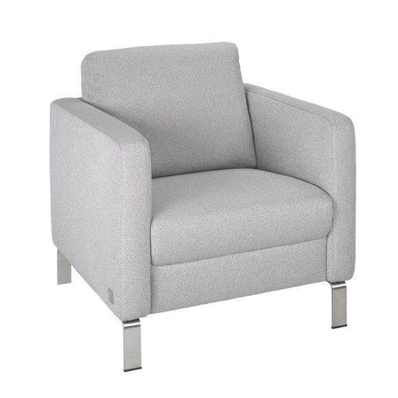 Der formschöne Sessel von JOOP! ist aus einem hochwertigen Textil ...