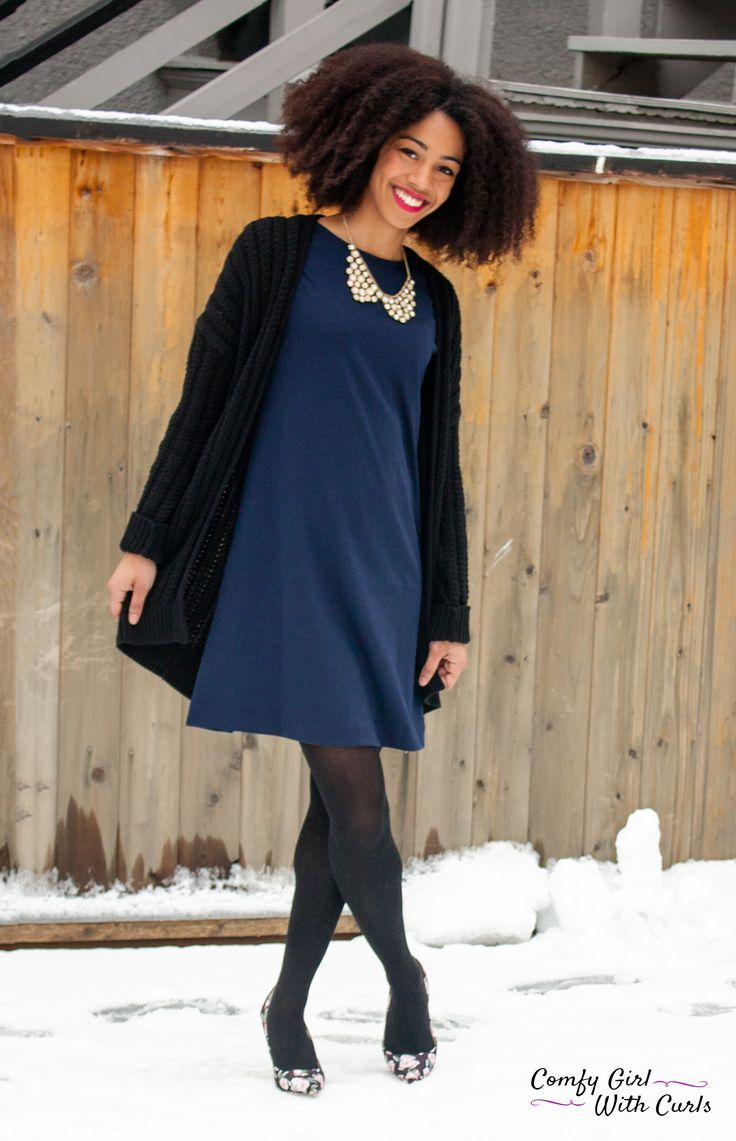 The gap work outfits ootd blue dress style for to office