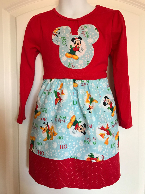 Disney Christmas T Shirt Dress/Disney Tee Dress/Disney Christmas ...