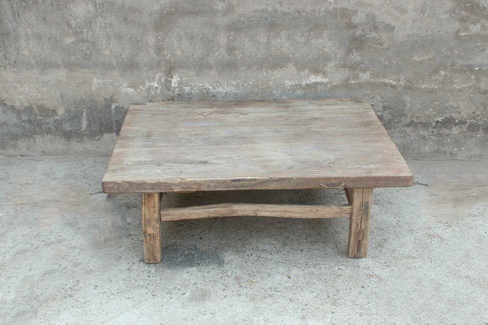 Petite Table Basse Orme Brut B176 163 Avec Images Table Basse