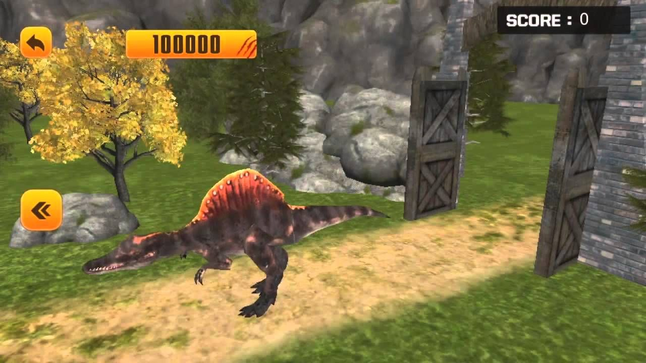 Dinosaur Simulator Free HD Android Trailer! Dinosaur
