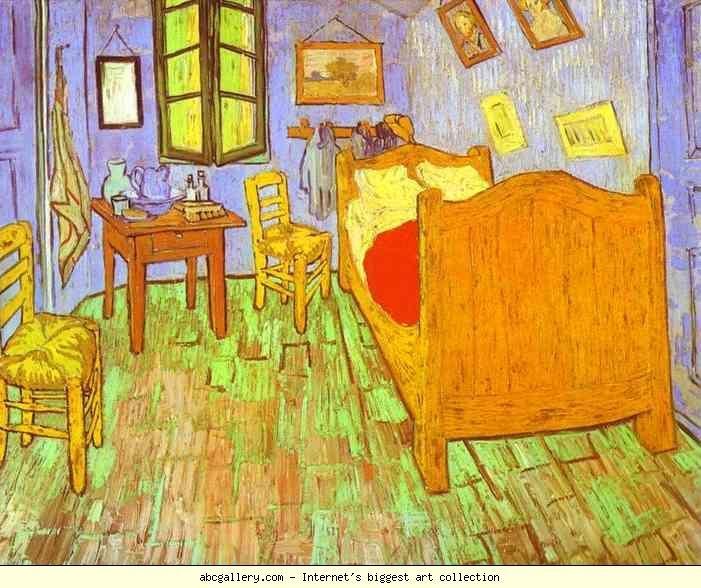Vincent Van Gogh. Van Gogh's Bedroom In Arles. Saint-R My
