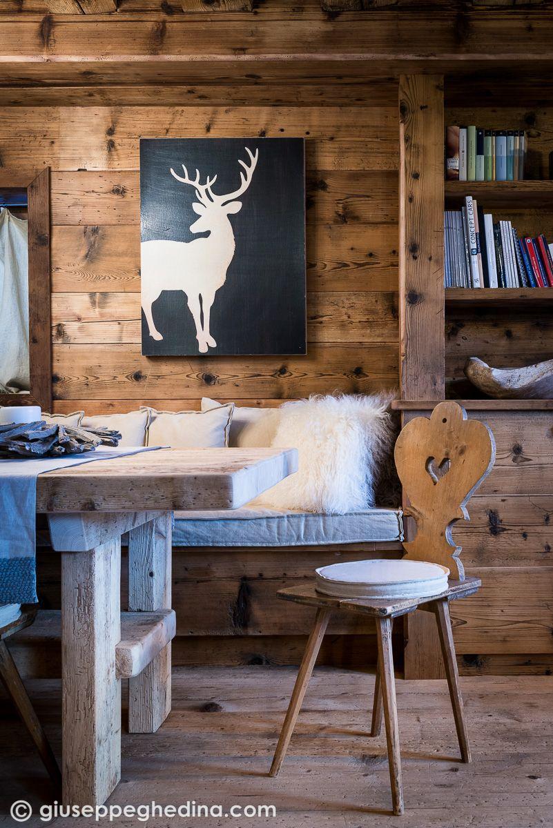 Interni a cortina case di montagna pinterest home for Arredamento montagna on line