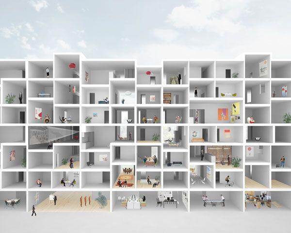 Mehr Als Wohnen Housing : Karamuk Kuo
