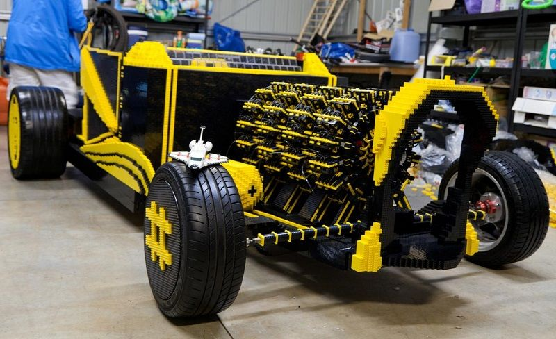 Awesome #Car #Made From #Legos