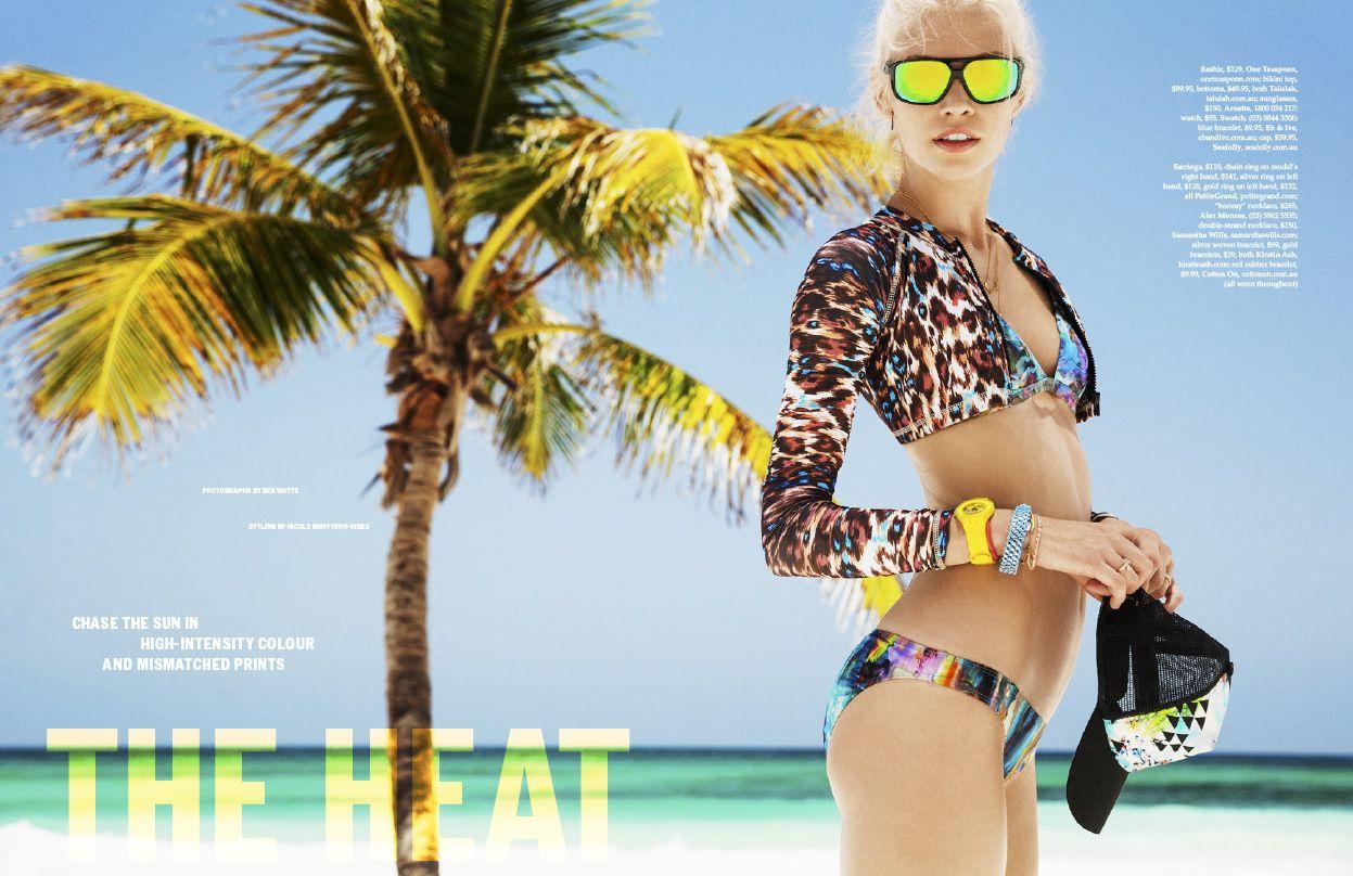 aliele1 Elle Austrália Novembro 2013 | Aline Weber por Ben Watts  [Editorial]