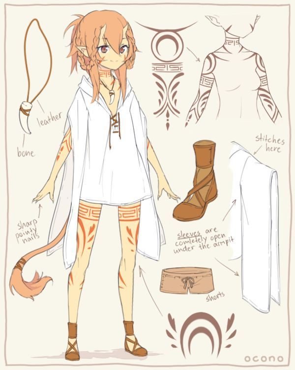 Character Design Spot : Morga sketch by ocono on deviantart illustration