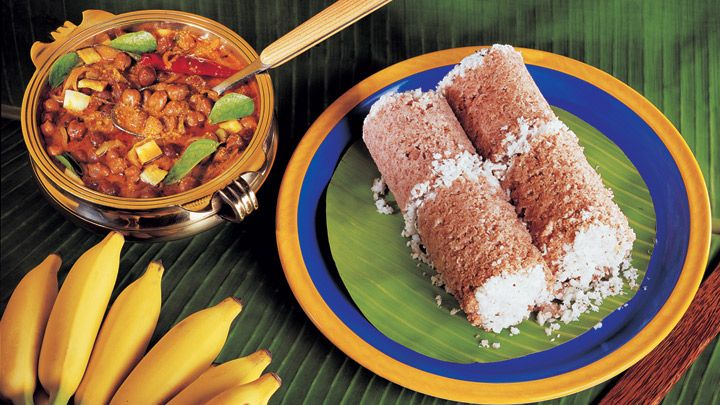 Recipe of puttu and kadala curry vegetarian breakfast dish puttu steamed rice cake and kadala chick pea curry vegetarian breakfast breakfast dishes breakfast recipes kerala forumfinder Choice Image