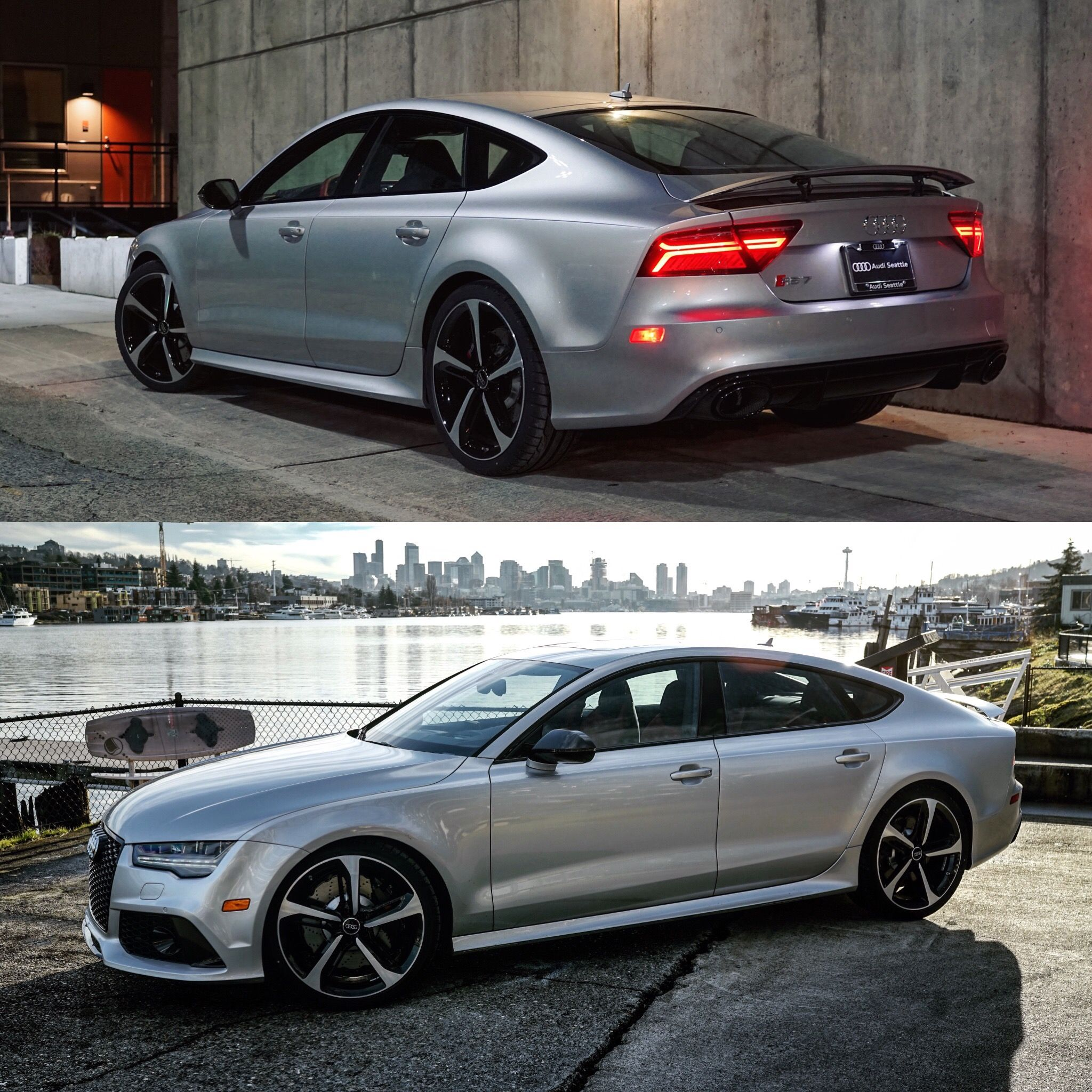 These Two Shots Of This Prism Silver #RS7 Look Great