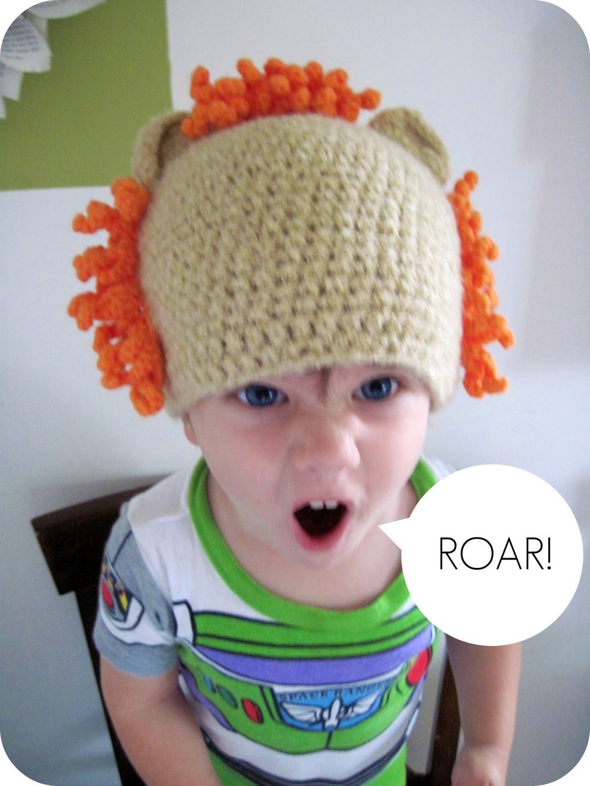37a20b165004f5 homemade by jill: crocheted lion mane hat | CROCHET Hats with ...