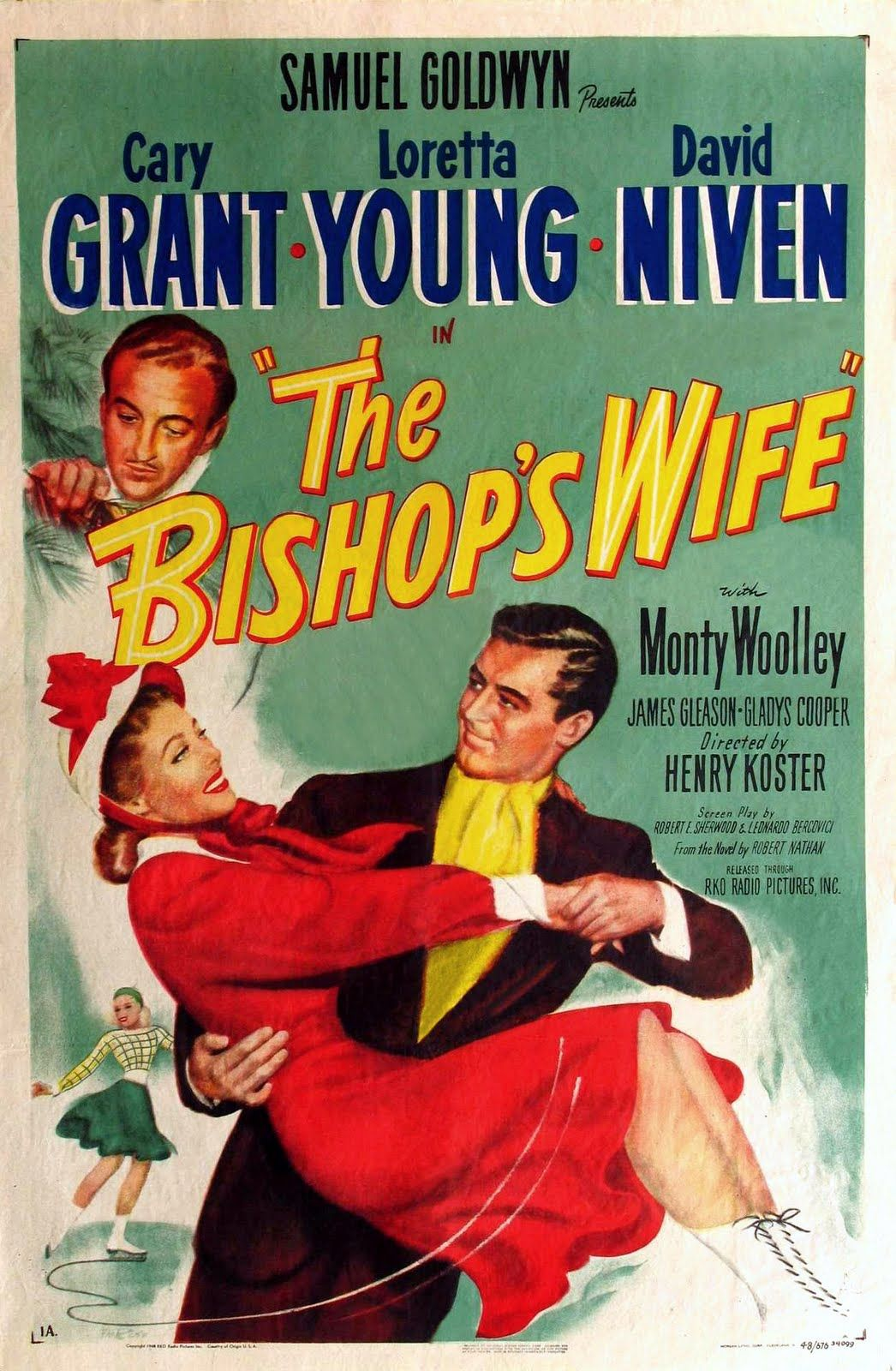 The Bishop's Wife (1947) Cary Grant Loretta Young, David Ninen