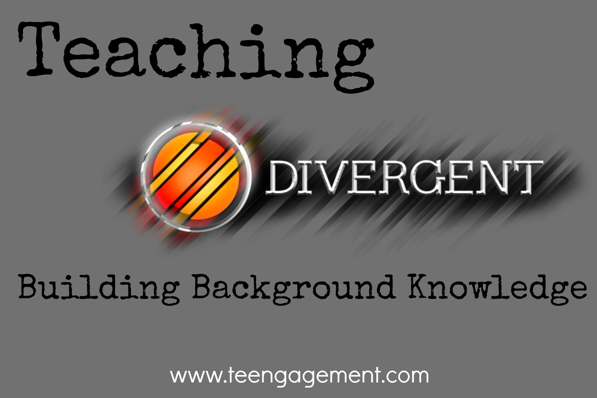 Four Resources For Teaching Divergent