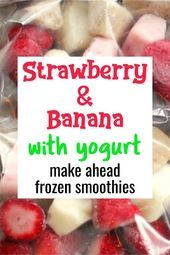 Make Ahead Smoothie Packs  My Favorite Frozen Fruit Smoothie Recipes  Super Simple and Insanely Good  Smoothies