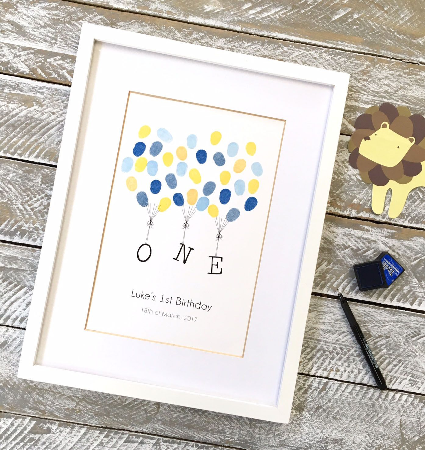 first birthday guest book kids birthday ideas from daisywood