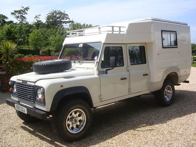 Land Rover Defender 130 som turbil - Side 3