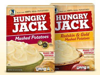 Prouduct Hungry Jack Mashed Potatoes Hashbrowns Casseroles Hungry Jacks Hungry Jack Potatoes Hungry
