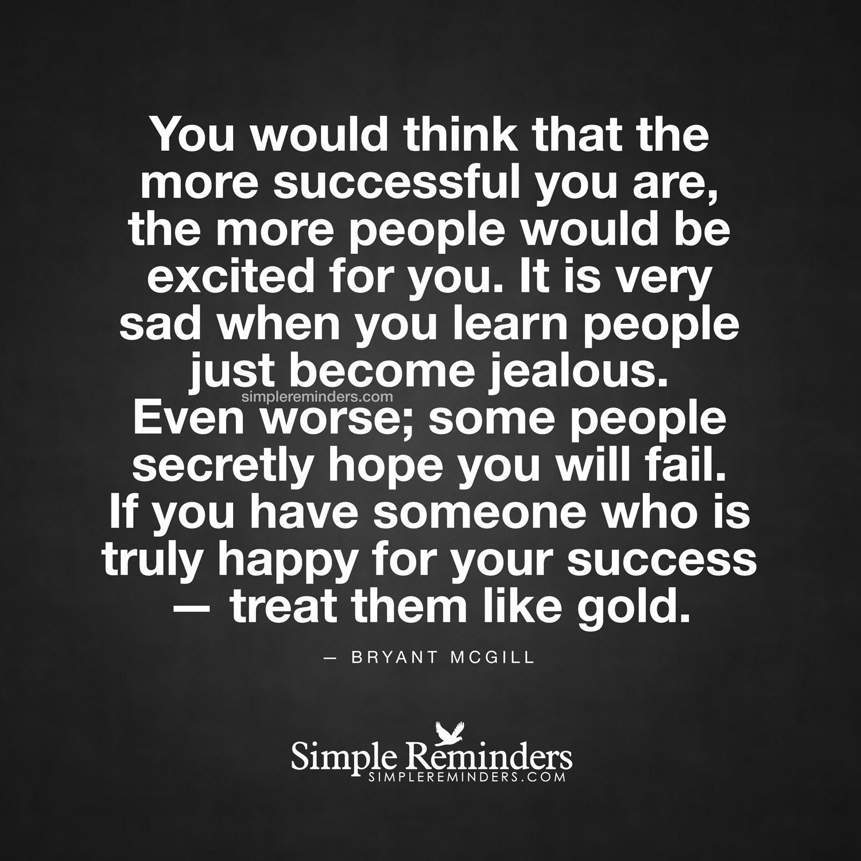 Jealous Over Someone Success