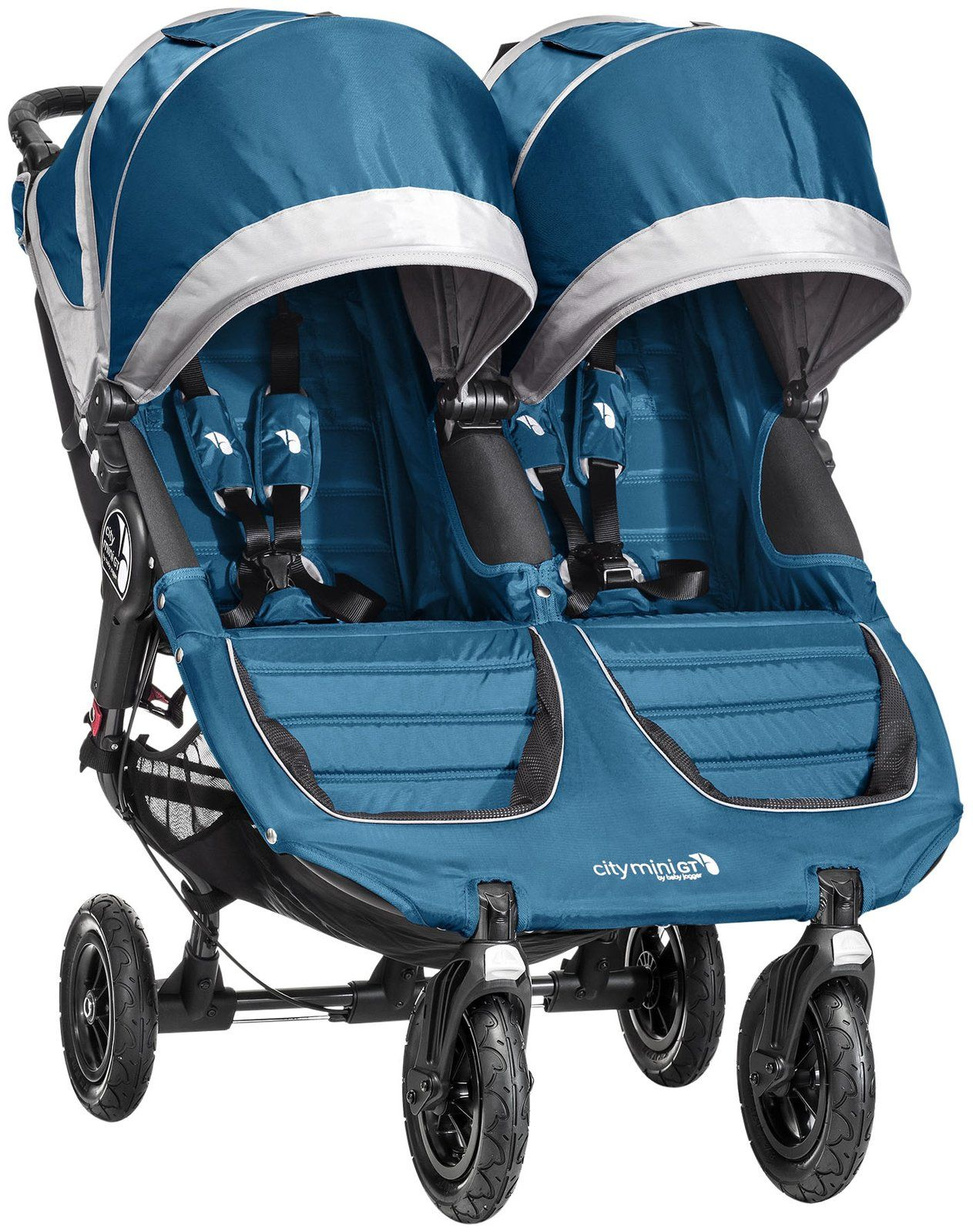 Baby Jogger City Mini GT Double Stroller Teal/Gray