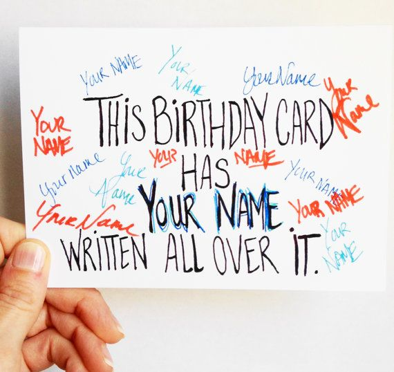 Funny Birthday Card Birthday Pun Card Hipster By Wellowlbee 400